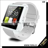 hot selling touch screen smart watch phone U8 android smart watch factory with good quality