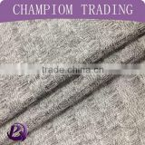 Shaoxing textile fashion fabric 100 polyester yarn dye 6x6 rib kint fabric coarse knit fabric