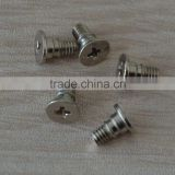 ISO 9001-2008 2015 high quality grade8.8 stainless steel flat head machine screw ,made in china