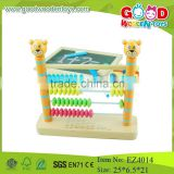 OEM&OEM Hot selling kids wooden calculation toys baby learning calculation frame children educational abacus