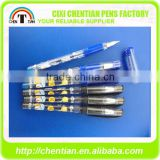 China Wholesale Low Odour Plastic Pen With Caps