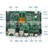 ODM High-End Industrial Control Board i.MX6 Solo/Dual/Quad Core With Dual Ethernet/SATA/PCI-e/HDMI/LVDS