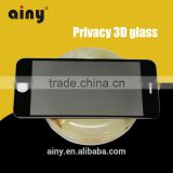 privacy screen protector 3D glasses full cover tempered glass screen protector for iPhone 6 6S