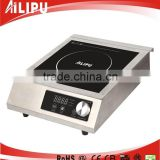2016 induction boiling machine kitchen equipment restaurant stainless steel countertop commercial induction cooker 5000w