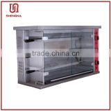 super quality independent control on each floor chicken grill machine for sale