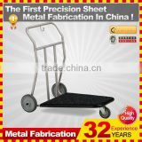 kindle 2014 new durable folding professional customized japanese style metal shopping cart for sale