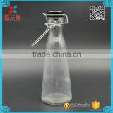 Wholesale 500ml Cone Shaped Glass Milk Bottle
