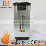 China best seller lithium battery charger and internal BMS supply, CE, SGS, RoHS, UN38.3, MSDS, UL certificated
