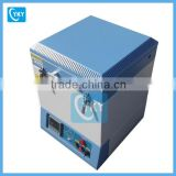 CE electric crucible furnace for sintering ceramic with Water-cooled stainless steel flange