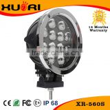 High brightness 4x4 12V 24V 7inch Auto LED Work Light LED Tractor Working Lights 60w led trailer tail lights for truck heavy Dut
