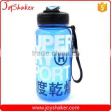 JoyShaker - New Products Plastic Sport Water Bottle and Cap with Silicone Band - BPA Safe PP Material                                                                         Quality Choice