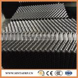 Cross fluted cooling tower fill/Long black PVC honeycomb filler