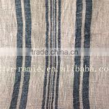 ramie&cotton woven plain fabric