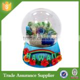 Souvenir Gift Polyresin Customized HAWAII Resin Ballet Snow Globe                                                                         Quality Choice