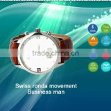 high- top super fashion watch , stainless steel watch with heart rate minitor
