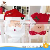Mr and Mrs santa claus christmas chair covers