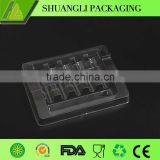 Blister process white color plastic ampoule vial packing trays                                                                         Quality Choice