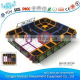 2015 New design of indoor trampoline park for kids and adult use