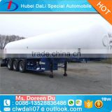gas delivery road tank semi trailer LPG tanker trailer
