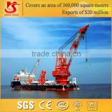 Vessel Plant Mobile Harbour Portal Crane with Heavy Duty Hook