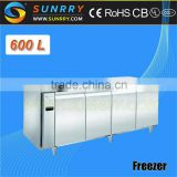 Table Top Salad Bar Refrigerator For Commercial Use In Hotel 600L (SY-RT600FSL SUNRRY)