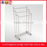 3 tier Belts display stand with hooks
