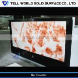 illuminated led bar counter/LED bar counter for nightclub/hot sale counter top