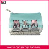 3D Deckchair Dogs printed mini promotional PVC wash bag /Journey cosmetic pouch /toilet pouch