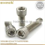 good quality manufacturer carbon steel DIN912 grade 4.8/8.8/10.9 zinc/black/plain din912 hexagon socket head cap screws
