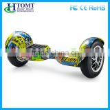 10 inch electric self balance scooter board cartoon design skateboard 2 wheel electric scooter hoverboard r2