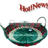 2011 Newest Weaving Bamboo Bread basket with Ear Handle