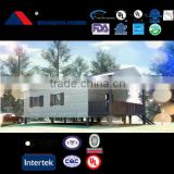 USA Standard prefabricated house and container home with light steel structure villa affordable