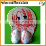 AY OPEN sexy girl full photo girl wrist rest pad, Japan Anime 3D Custom Soft Breast wrist gel rest mouse pads,rubber ass