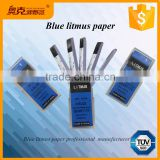 Lab testing tool strips / papers for blue litmus kits