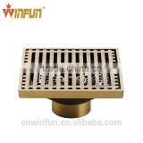 Hot sell 10cm 4 inch Bathroom Brass Floor Strainer Drain /Floor drain top quality bathroom accessories/Drainer