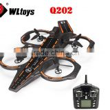 Wltoys Q202 4CH 6 Axis 2.4GHz RC Aircraft Carrier water 3 in 1 cruiser boat RC Quadcopter RTF