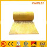 Kingflex fiber glass wool insulation/glasswool roof thermal Construction materials