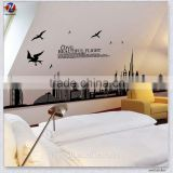 Charming Butterfly Design Eco-Friendly Washable PVC Removable Room Decor 3d Wall Stickers