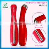 2015 Beauty Equipment Vibrating Facial Massager Galvanic Face Massage Beauty Care Machine