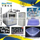PP Jelly Cup Forming Machine, thermoforming machine, 2015 brand new plastic cup making machine