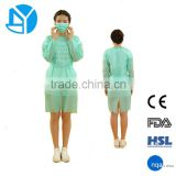 2015 New Products Free Samples Disposable Hospital Surgical Gown