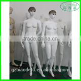 Fashion window display fabric dress female mannequin for sale