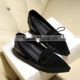 ladies summer shoes women shoes with lace sandal shoe factory in china CP6685