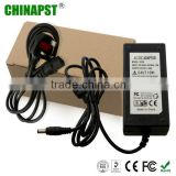 12V 5A Power Adapter for 60W (5.5*2.1mm) /AC Adapter 60w for CCTV Camera with EU/USA/UK/AU (optional) PST-CA03