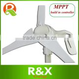 Horizontal axis wind turbine generator with MPPT build in controller.