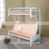 Wholesale High Quality Bunk Bed Rail Heavy Duty Steel Metal Bunk Bed