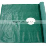 (self-adhesive edge one hole)EO Sterile fenestrate disposable surgical drape