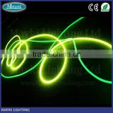 Plastic solid core side glow optical fiber cable for swimming pool lighting with a cheap price