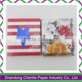 Christmas Designs Colorful Paper Napkins for Xmas