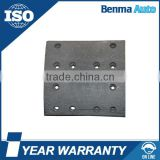 Wholesale top quality auto brake system 19931 brake lining for Scania